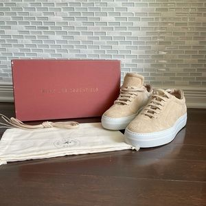 NWT WANT Les Essentiels Lalibela Suede Sneaker